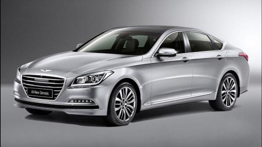 Nuova Hyundai Genesis: l'ammiraglia coreana sfida le tedesche