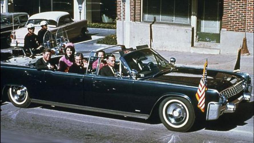 John F. Kennedy, ecco l'auto in cui fu assassinato il 22 novembre 1963