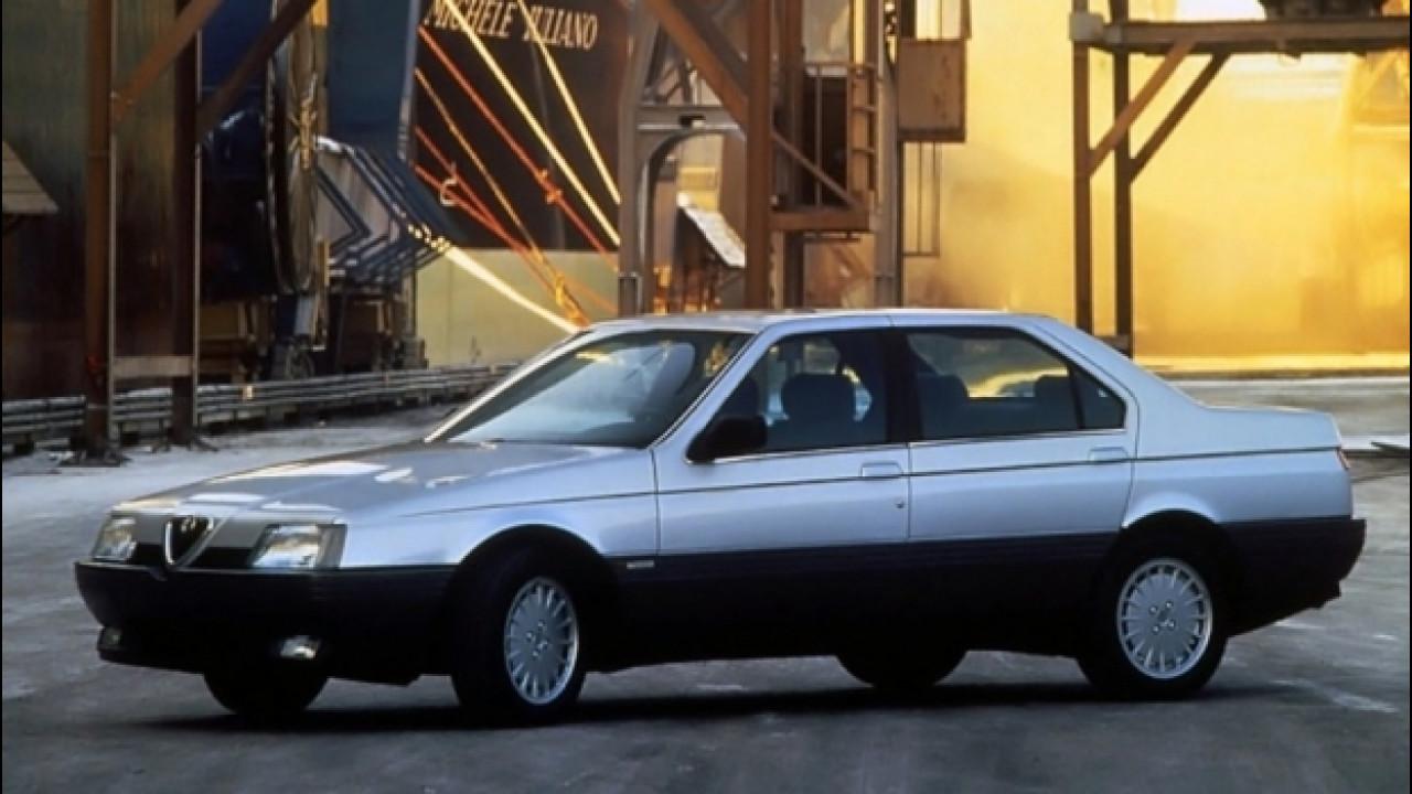 [Copertina] - Alfa Romeo 164, l'ultima rivale della BMW Serie 5. Per ora...