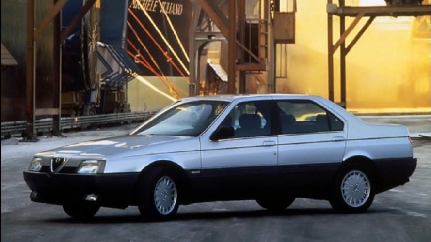 Alfa Romeo 164, l'ultima rivale della BMW Serie 5. Per ora...