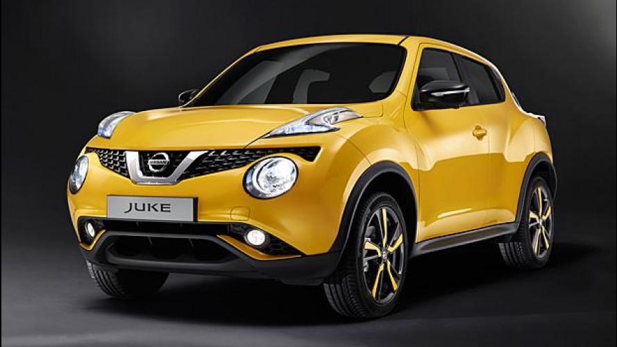 Nissan Juke restyling: si rinnova la crossover da città