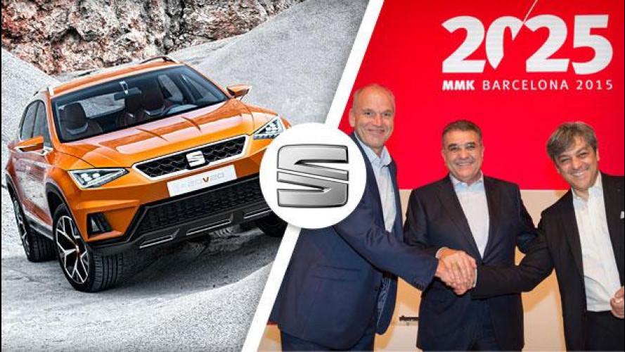 """Seat, la """"redditività sostenibile"""" parte dal nuovo SUV"""