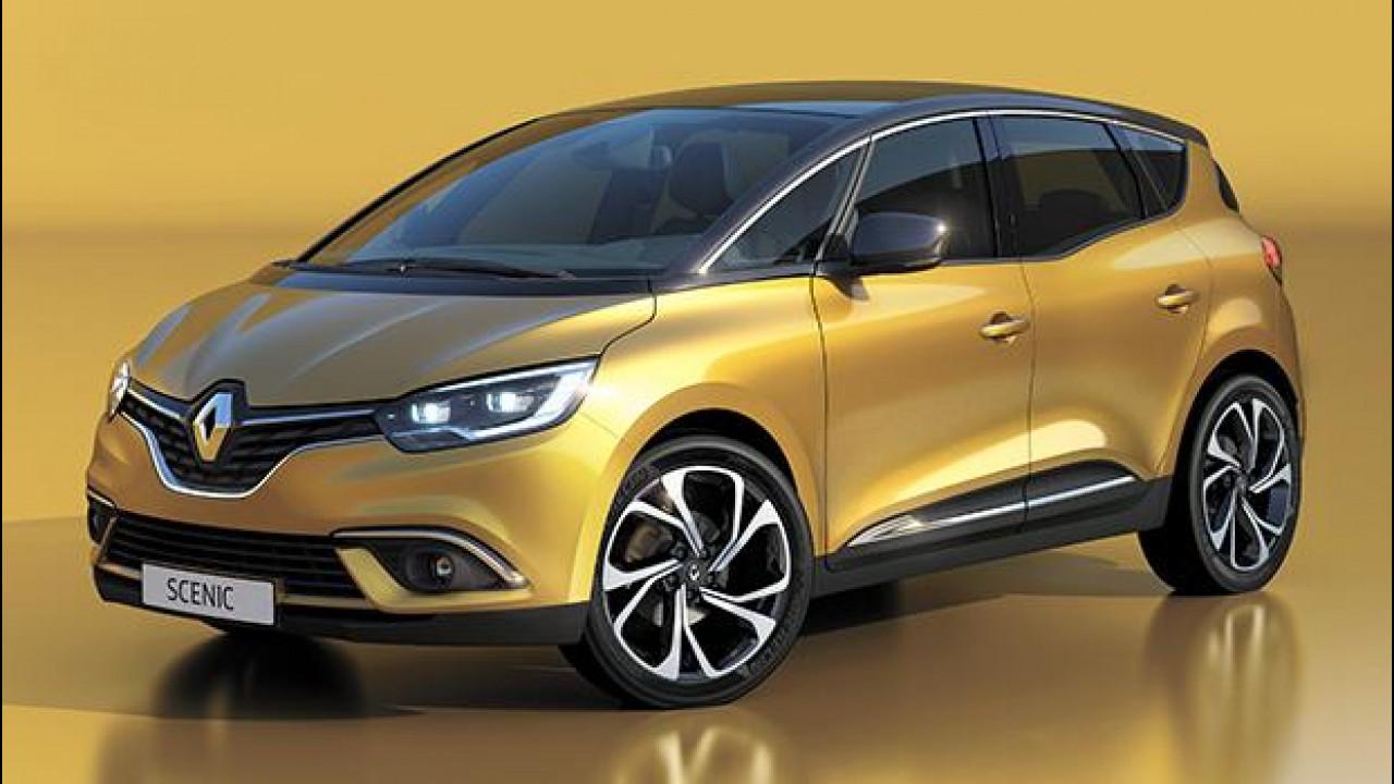 [Copertina] - Nuova Renault Scenic, le prime foto