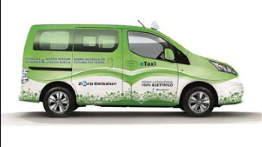 Nissan e-NV200 Evalia è il primo taxi-suv elettrico d'Italia
