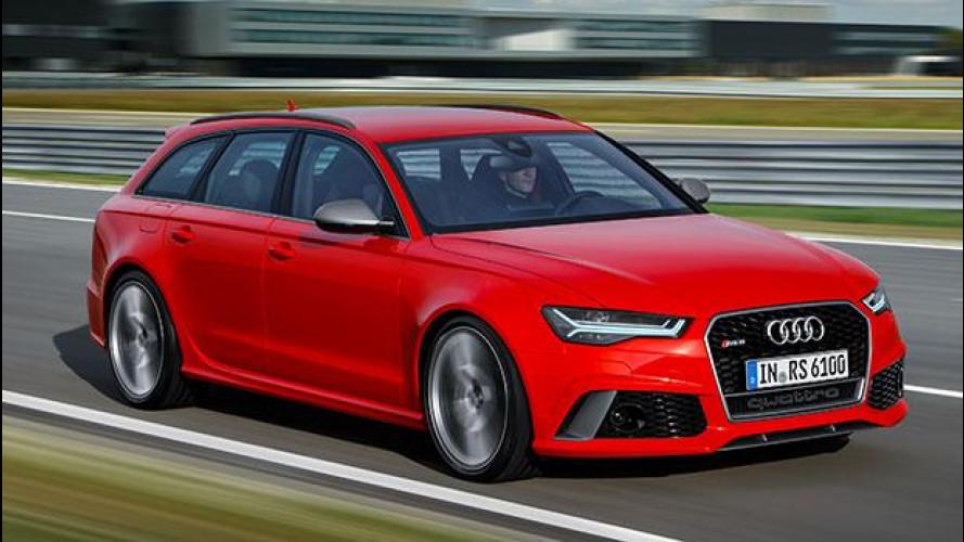 Audi RS 6 Performance, in pista sfidando le leggi della fisica