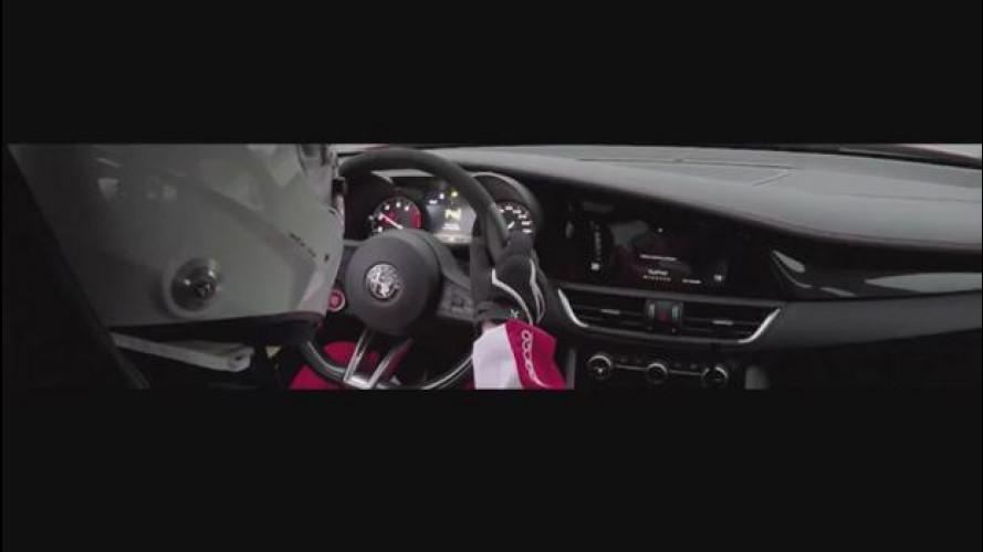 Alfa Romeo Giulia, ecco il video del record al Nurburgring