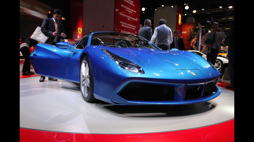 "Ferrari 488 Spider, la comprereste ""non-rossa""? [VIDEO]"