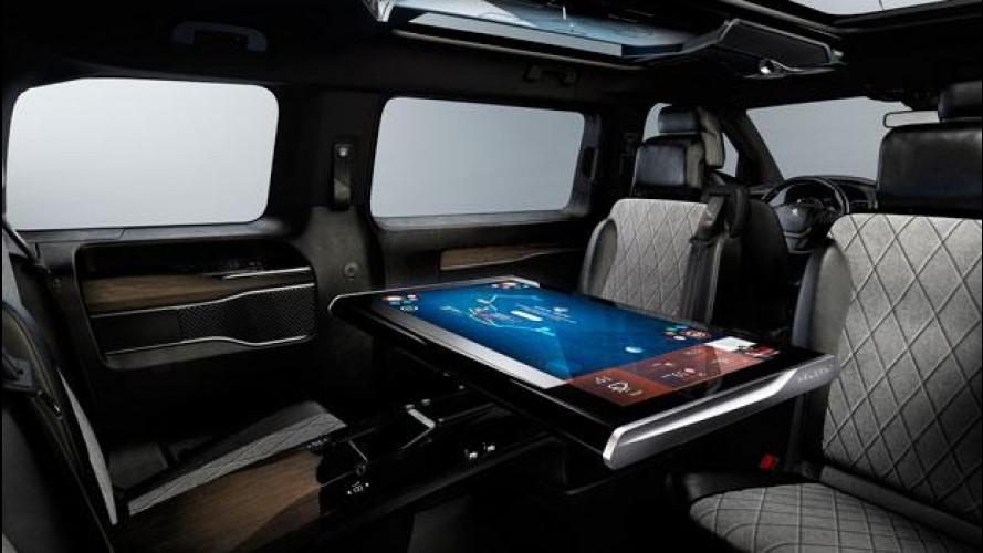 Peugeot Traveller i-Lab, lusso 3.0