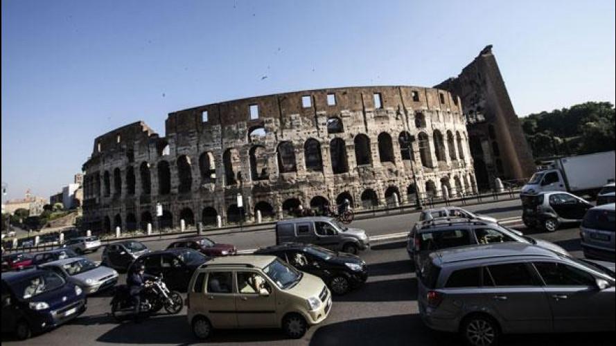 Traffico, Roma la città più congestionata d'Italia