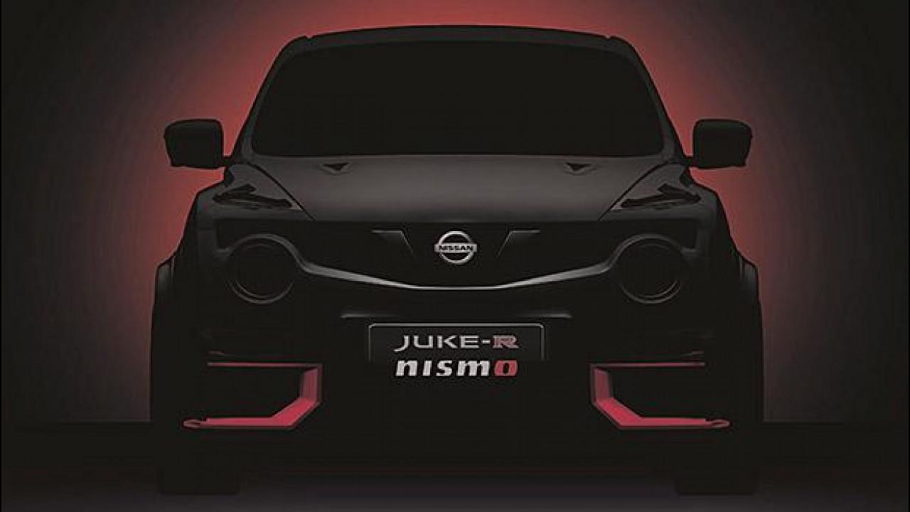[Copertina] - Nissan Juke-R Nismo, torna il crossover mostruoso