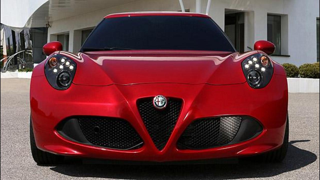 [Copertina] - Alfa Romeo 4C: cambiano i fari?