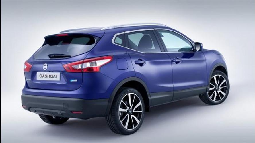 Nuovo Nissan Qashqai, listino prezzi da 19.900 euro