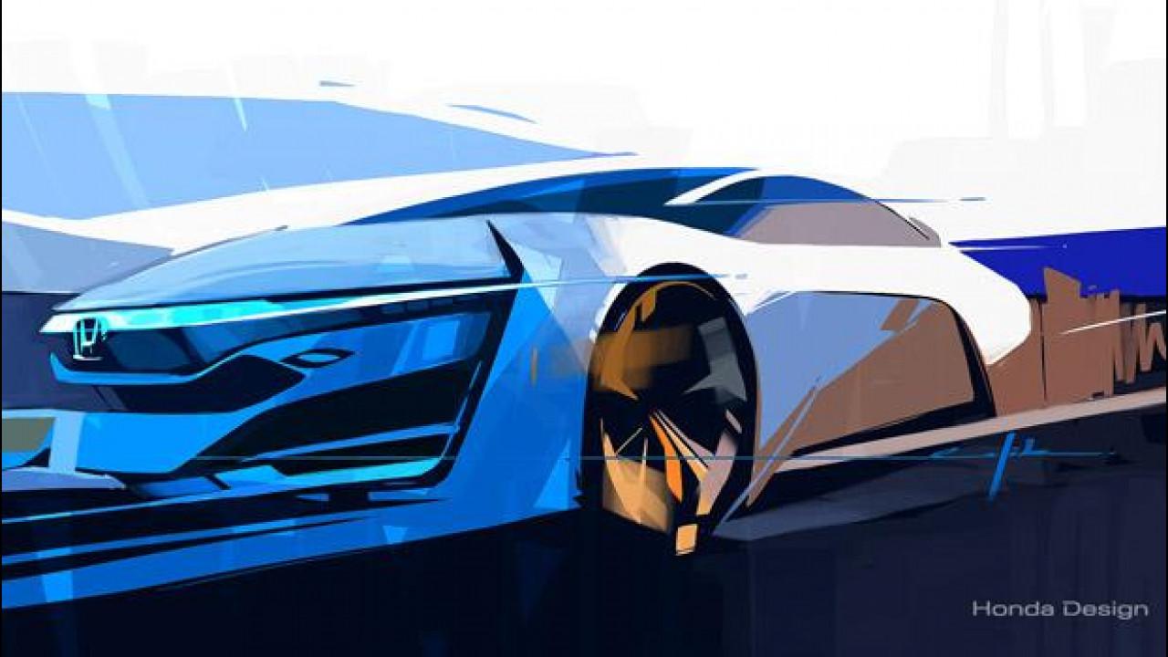[Copertina] - Honda FCEV Concept