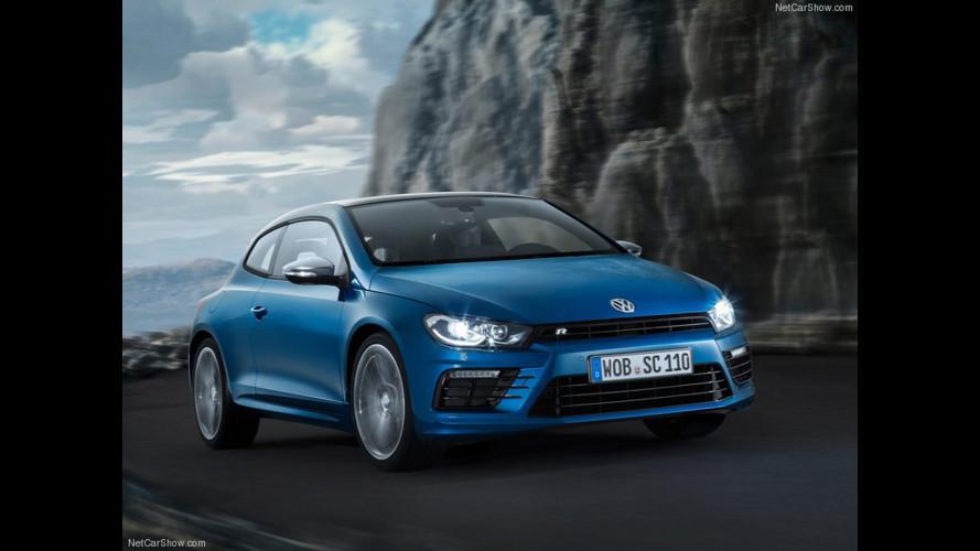Volkswagen Scirocco R restyling