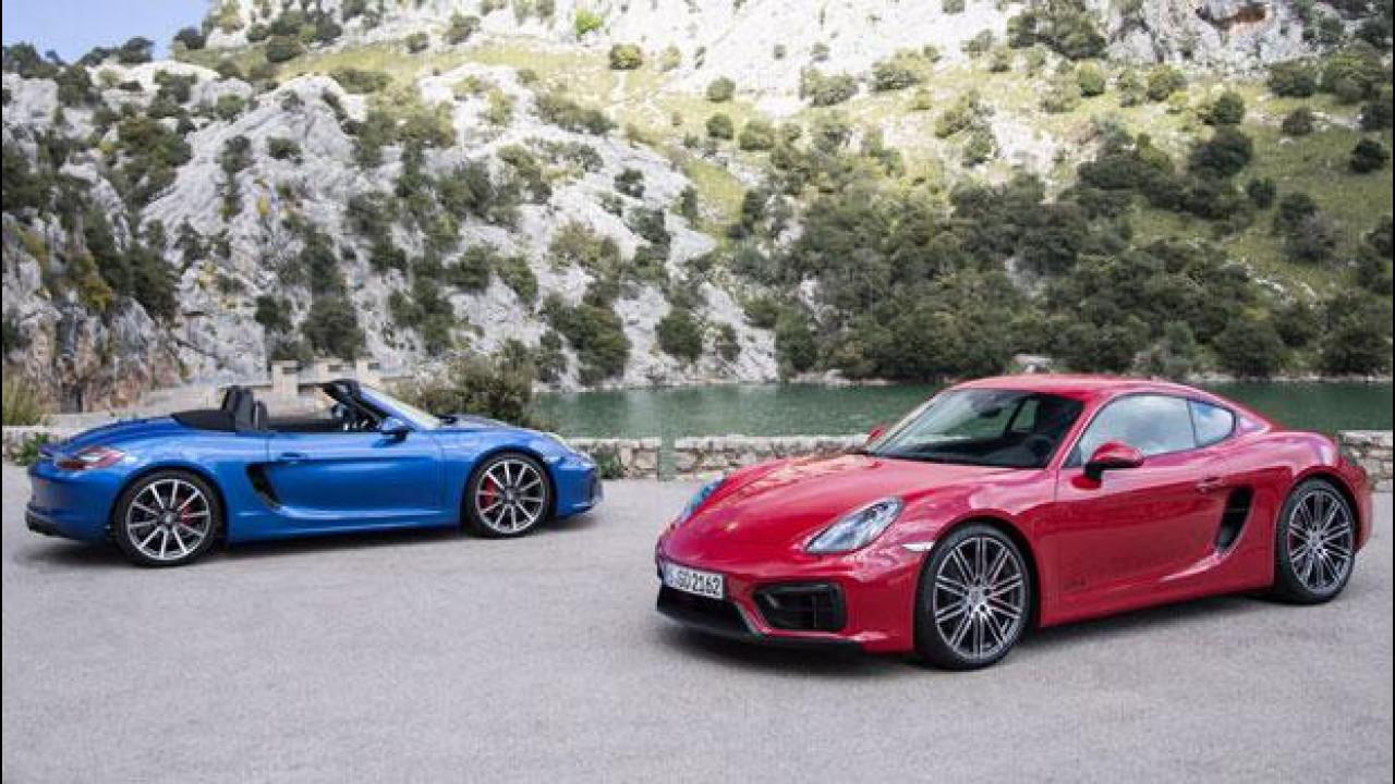 [Copertina] - Porsche, quattro cilindri turbo su Boxster e Cayman