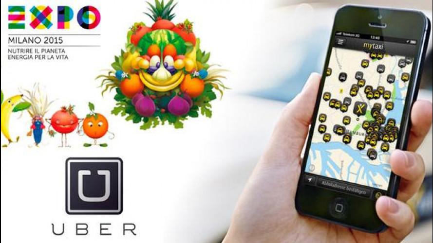 EXPO 2015, Uber e mytaxi si contendono clienti
