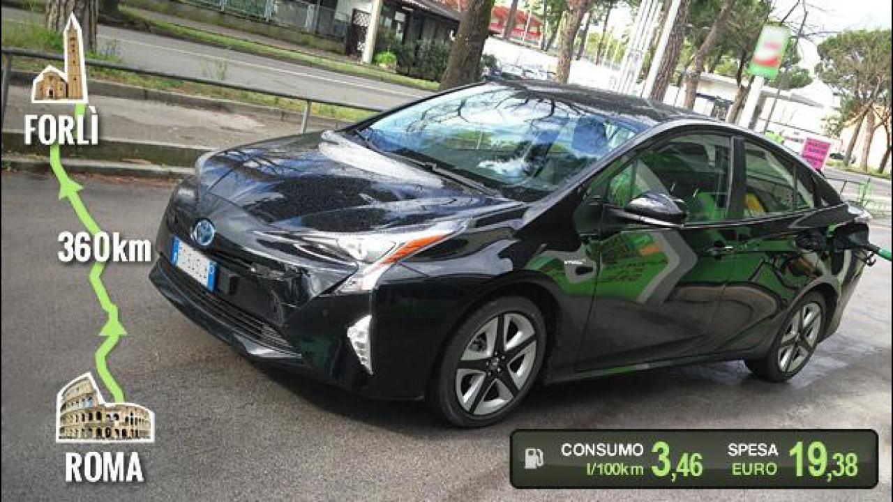 [Copertina] - Nuova Toyota Prius, la prova dei consumi reali [VIDEO]