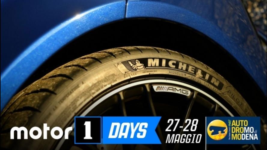Motor1Days, Michelin lascia l'impronta sugli Hot Lap