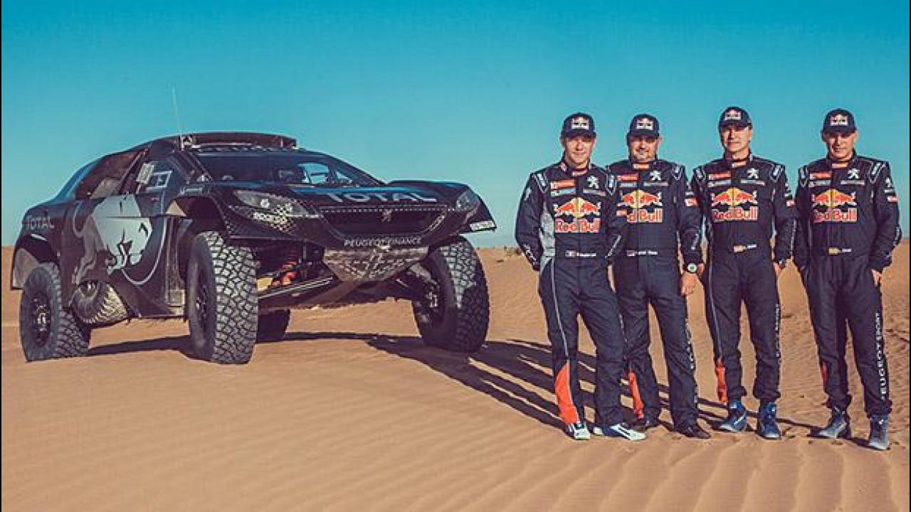 [Copertina] - Peugeot, Sébastien Loeb è alla Dakar 2016
