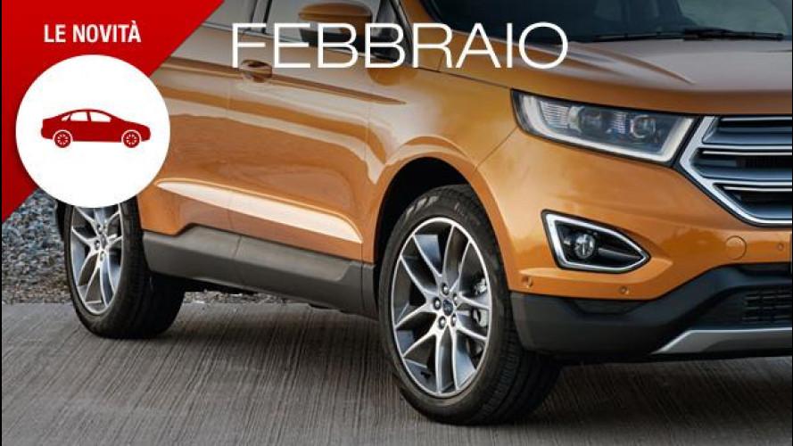 """Febbraio è il mese dei SUV e delle sportive, con due """"intruse"""""""