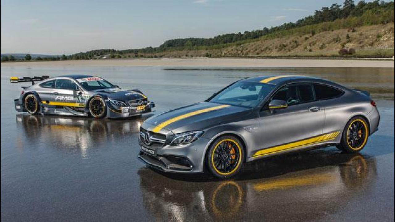 [Copertina] - Mercedes-AMG C 63 Coupé, ecco la Edition 1