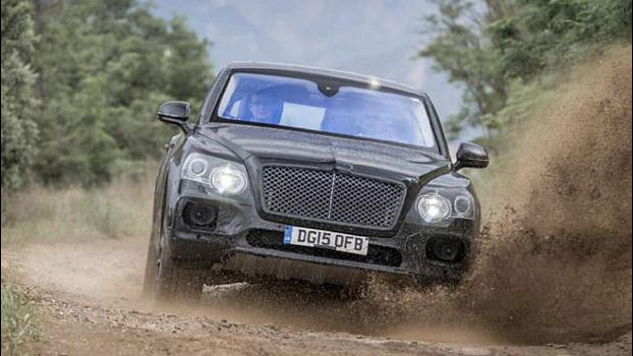 [Copertina] - Bentley Bentayga, prove di SUV in fuoristrada [VIDEO]