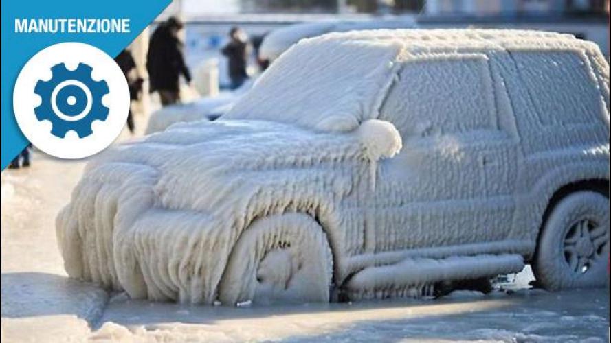 """Batteria auto, cosa fare se... si """"congela"""""""