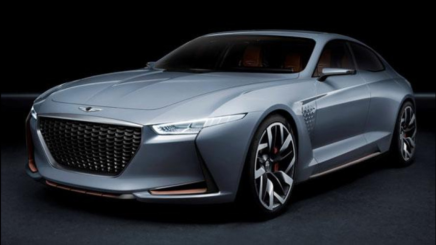 Genesis New York Concept, in arrivo la berlina-coupé