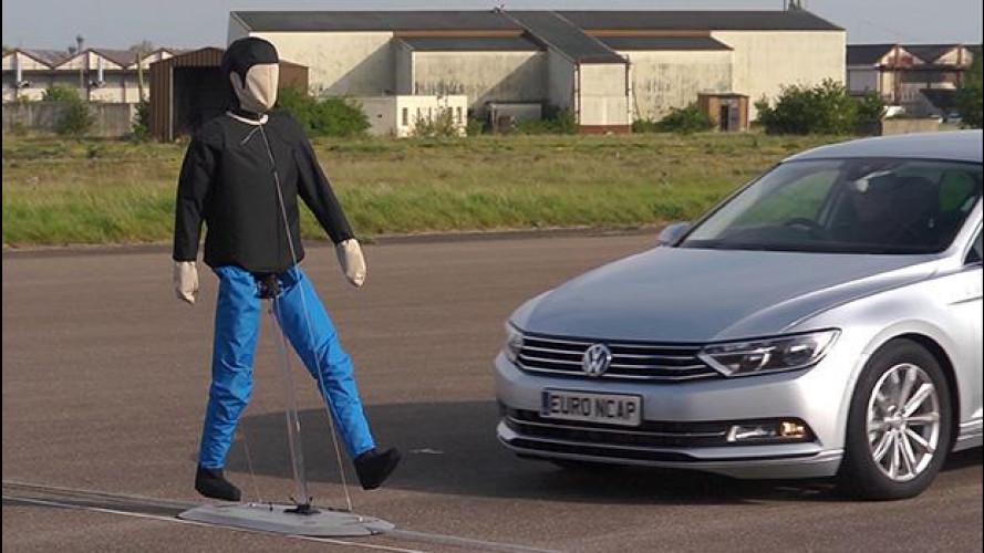 Euro NCAP, nuovo test per la sicurezza di pedoni e ciclisti