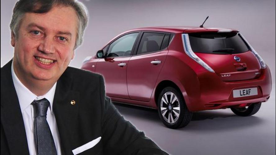 """Schillaci (Nissan): """"L'auto elettrica è il futuro, semplifica la vita"""""""