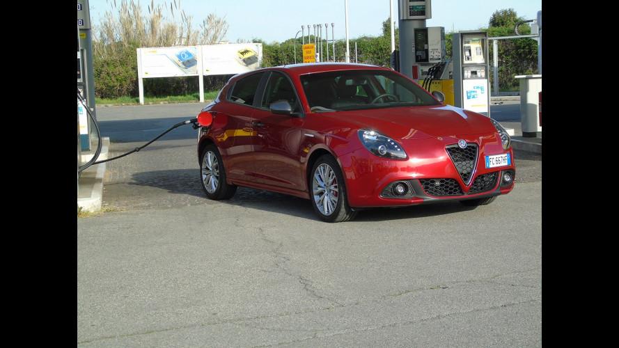 Alfa Romeo Giulietta 1.6 JTDM, la prova dei consumi reali