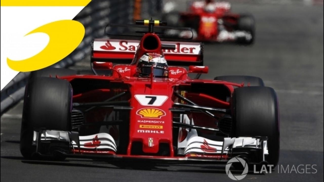 [Copertina] - Formula 1, il GP di Monaco ha sancito il sorpasso Ferrari