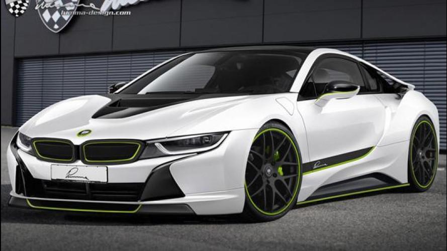 BMW CLR i3 e CLR i8 concept by Lumma design