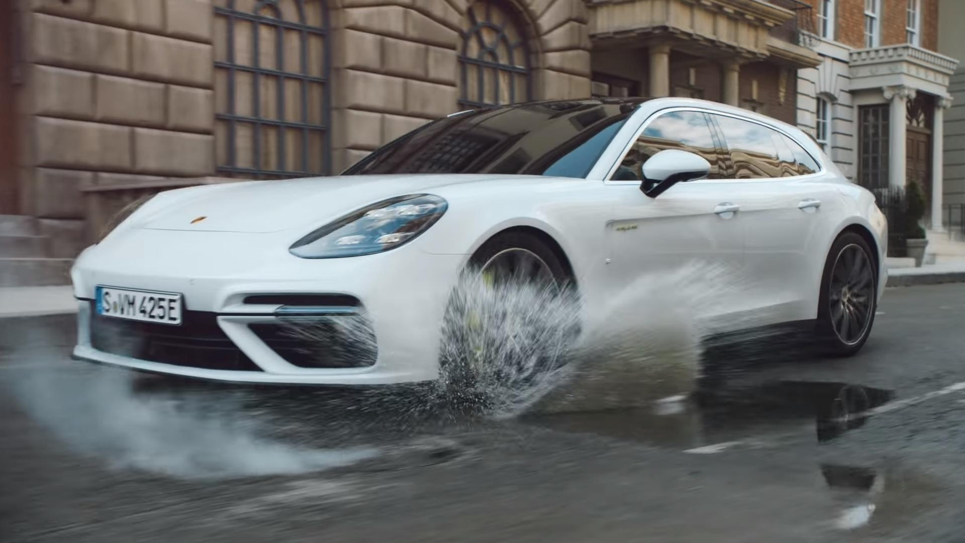 Porsche Panamera Turbo S E Hybrid Sport Turismo Makes Video Debut