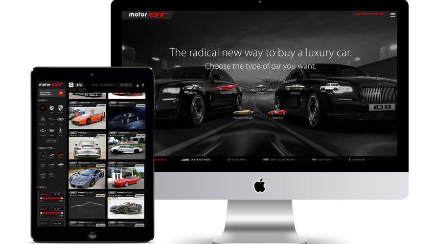 Motosport Network trae la compra de coches de lujo a la era digital con MotorGT.com