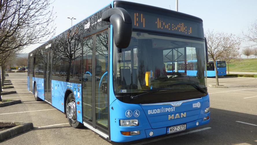 További 15 új busz munkába állításával javul a fővárosi tömegközlekedés minősége