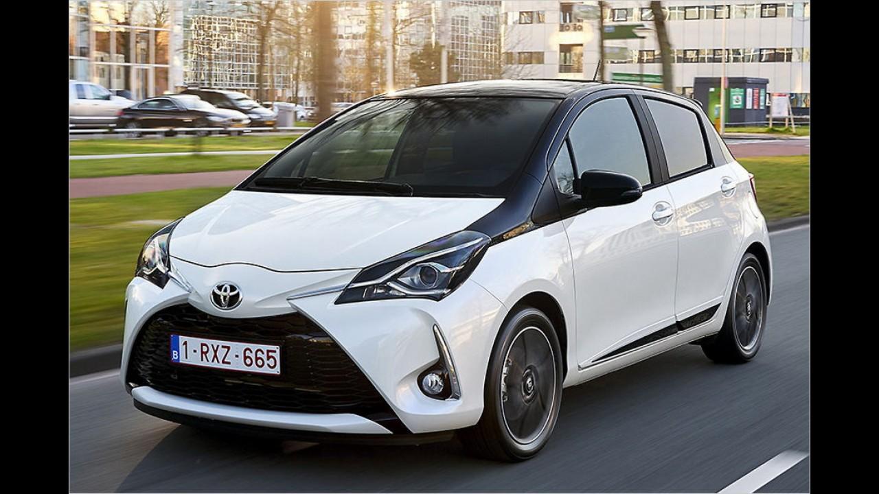 Platz 13: Toyota Yaris (286 Liter)