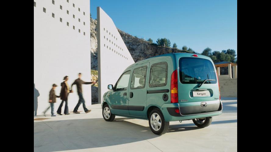 Renault Kangoo bi-fuel > Benzina-Metano