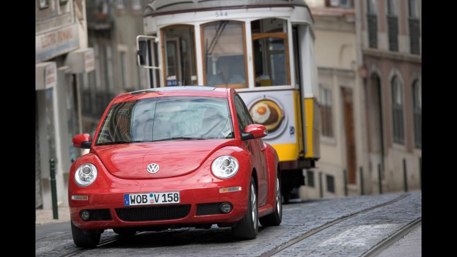 La Volkswagen New Beetle compie 10 anni
