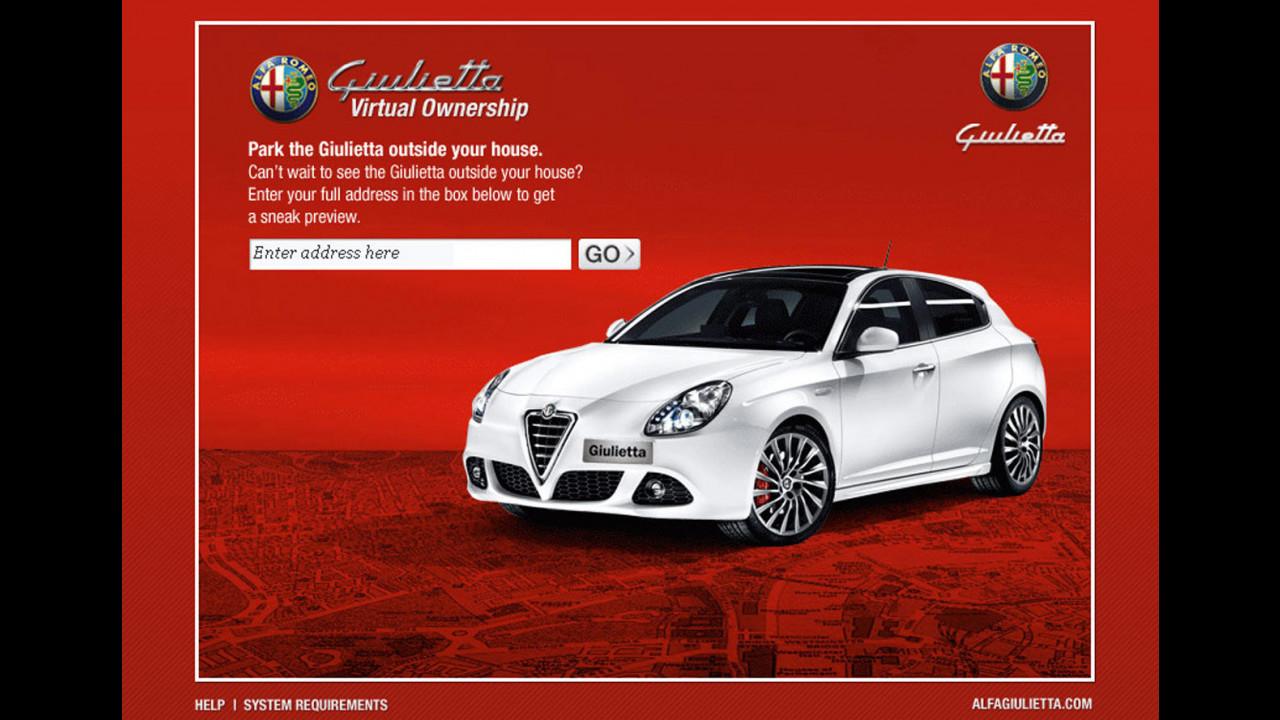 Alfa Romeo Giulietta Virtual Driveway