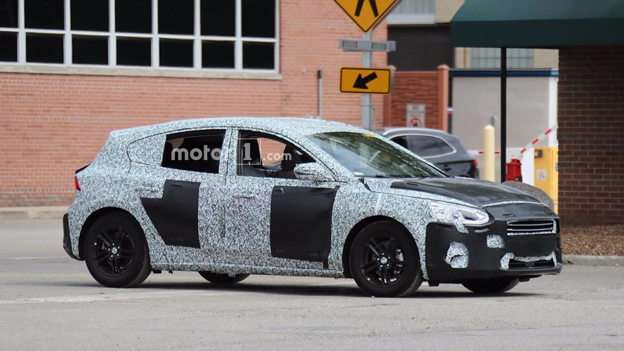 2019 Ford Focus 5 Door Hatchback Spied Testing In U S