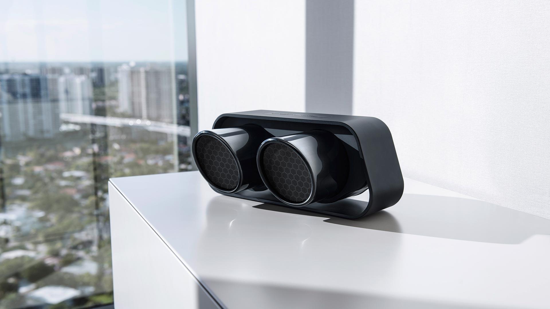 f61efb3afe8 Porsche Design 911 Speaker Gives Your Music Supercar Sound