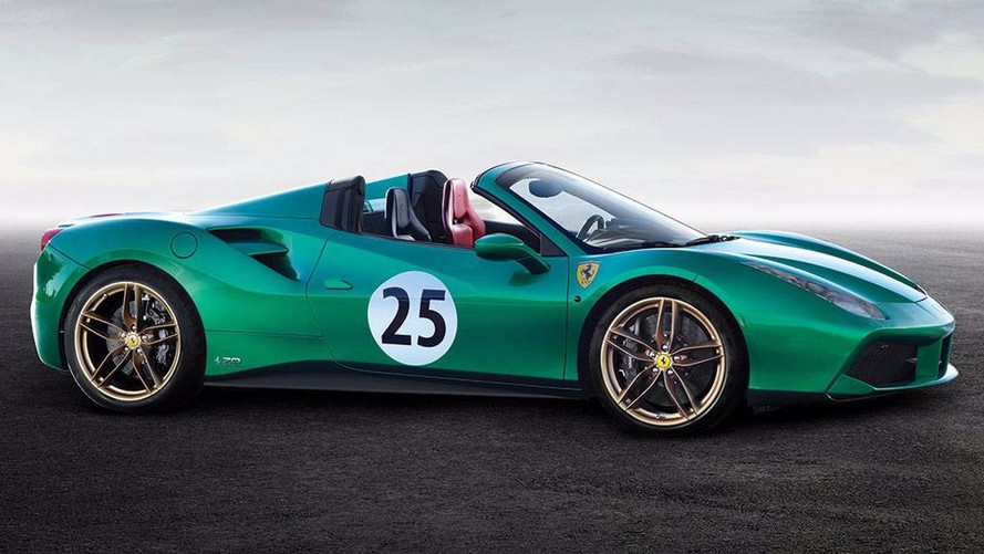 "Ferrari 488 Spider ""Green Jewel"""