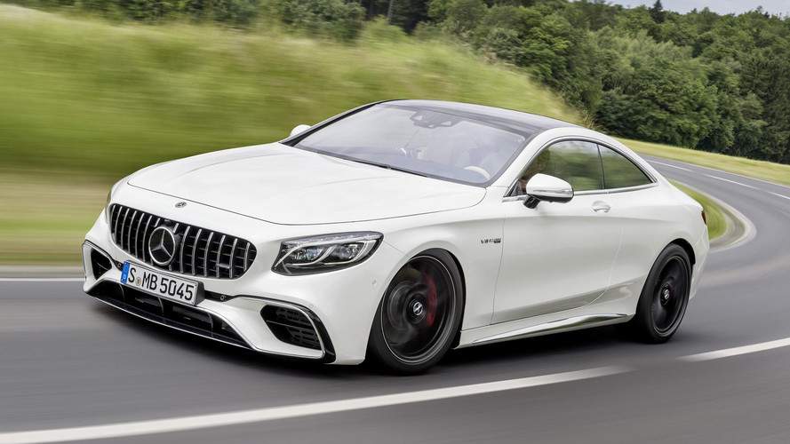 Mercedes-Benz S-Class Coupe Reveals Its Frankfurt Facelift