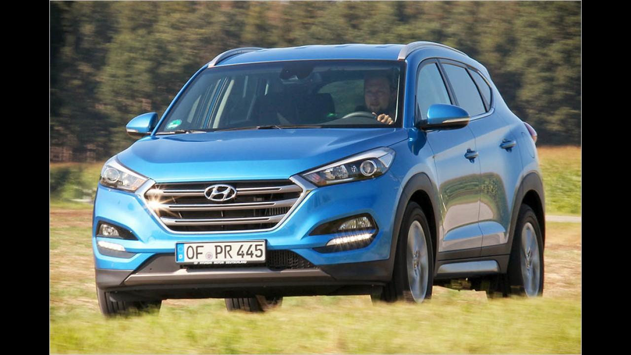 Platz 9: Hyundai Tucson