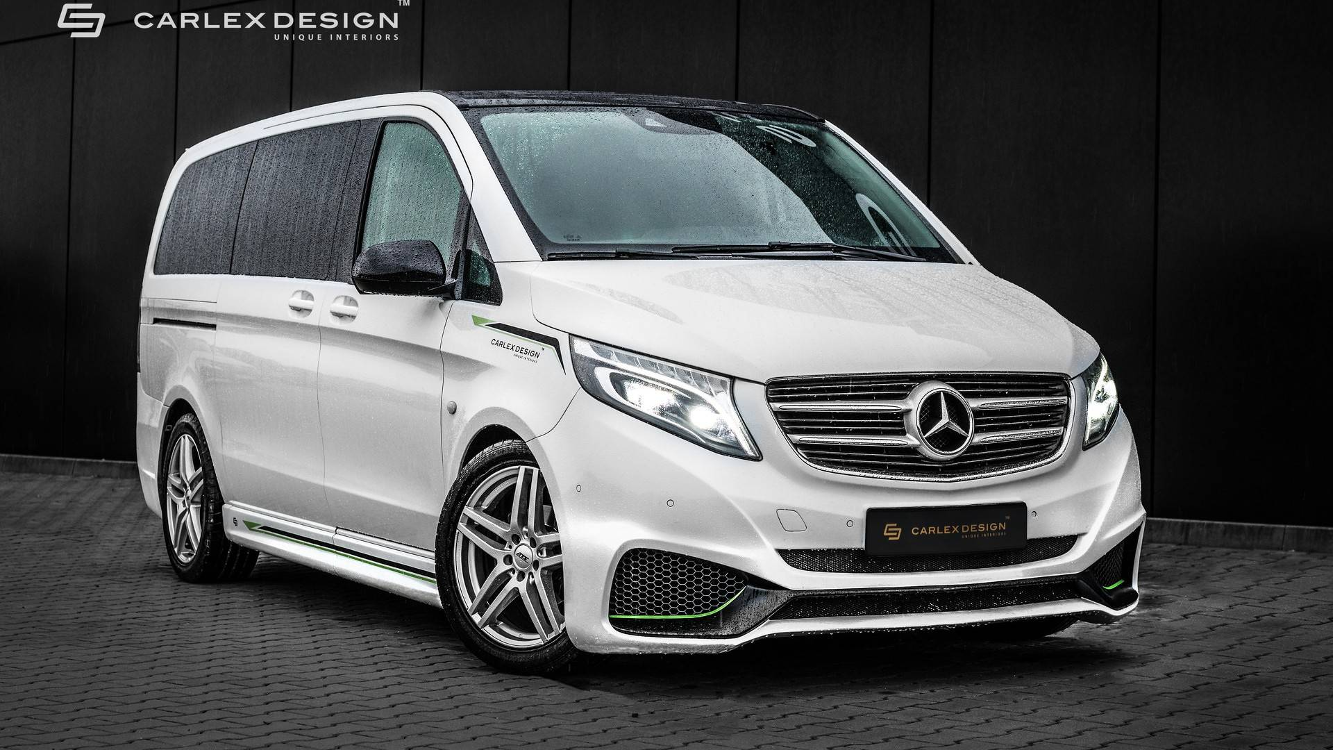 Mercedes Vito By Carlex Gets Sporty Exterior Luxurious Interior