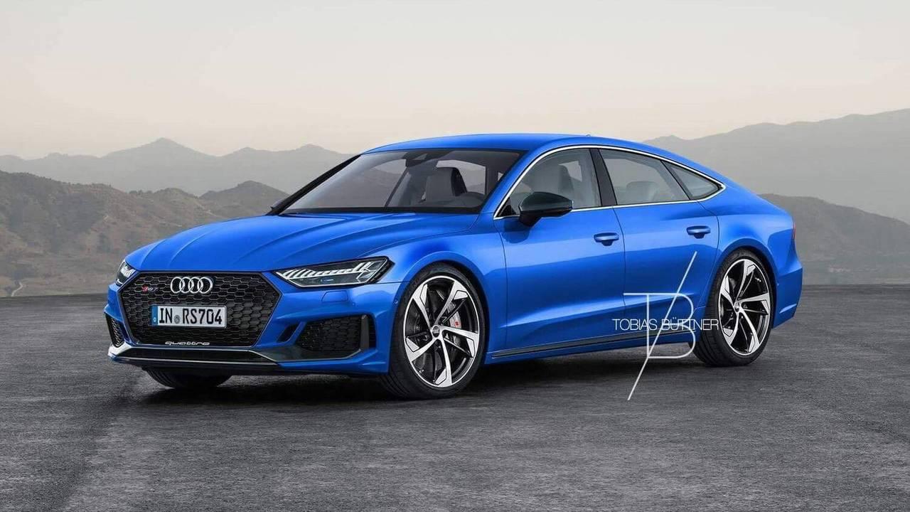 2019 Audi RS7 Rendering