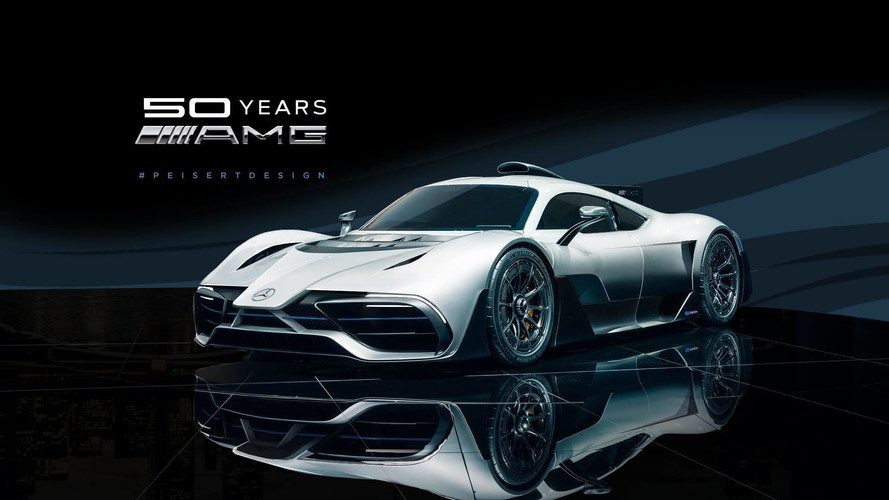 Does The Mercedes Project One Look Better With An F1 Nose?