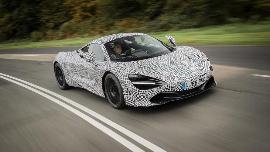 McLaren BP23 development mule