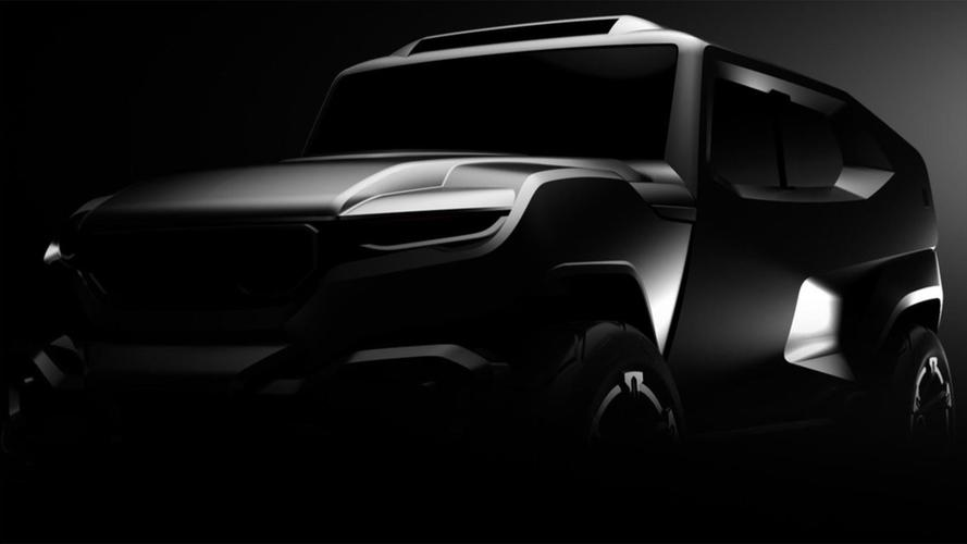 Rezvani Tank Performance SUV Teases 500-HP V8 And Night Vision